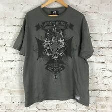 2008 WWE T-Shirt Size XL Long Live The King Vive Diu Rex Return To Fear MMX