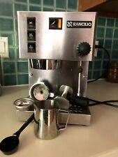 Rancilio Silvia espresso machine- Stainless Steel, pre-2010 with accessories.