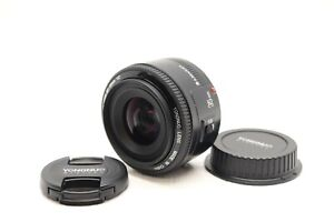 Yongnuo Yn35Mm F2 Lens 1:2 Af/Mf Wide-Angle Fixed/ Auto Focus Lens For Canon Ef