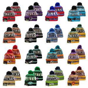 2021-22 NFL Sport Knit Fleece Beanie Hat