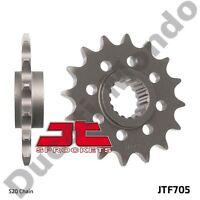 Front sprocket 15 tooth JT steel 520 conversion for Aprilia RSV RSV4 Tuono SL