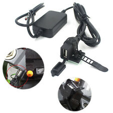 Motorcycle 12V 2.1A USB Power Port Socket Charger Single Port Mobile Phone