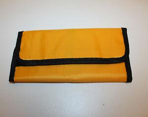 Instrumentenetui orange Klettverschluss Maniküre Pediküre Instrumente Set Etui