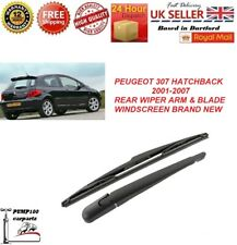 PEUGEOT 307 HATCHBACK REAR WIPER ARM & BLADE WINDSCREEN 350MM BRAND NEW