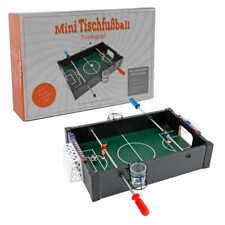 Parts4Living Tischkicker Trinkspiel Partyspiel Tischkicker Miniformat 10x35x24cm