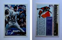 Wilson Alvarez Signed 1996 Topps #159 Card Chicago White Sox Auto Autograph