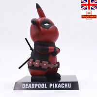 Action Figure Collection Pikachu Deadpool Figure Collectible Model Gift Xmas Toy