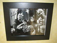 Red Hot Chilli Peppers Signed Photo Repro-Print (8x10) Framed