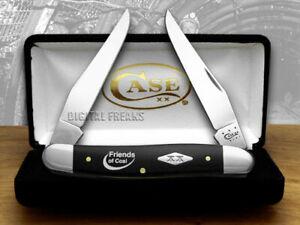Case xx Muskrat Knife Friends of Coal Black Delrin 1/500 Pocket