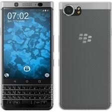Housse en silicone pour Blackberry keyone (Mercury) Crystal Clear Transparent Cover