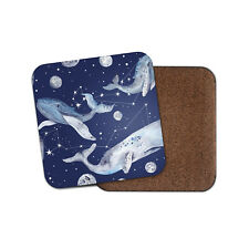 Whale Cetus Constellation Coaster - Space Moon Sky Stars Cool Fun Gift #13231