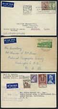 Australia 1930s 50s Collection Of 16 Commercial Covers Various Frankings Mostly