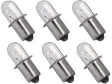 (6) Xenon Replacement Bulbs for  Milwaukee 49-81-0030  18 Volt