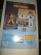 NEWBURG Wooden Doll House VTG Victorian Kit Wood Dollhouse DIY Mansion #NB 180