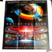 """ELO Electric Light Orchestra Out Of The Blue Vintage Spaceship Poster 25""""x28.5"""""""