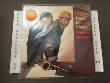 SEALED MARION BROWN THREE FOR SHEPP DEBUT RE LP SV165