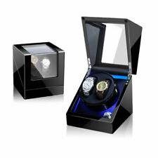 Automatic Rotation LED Watch Winder for 2pcs of watches