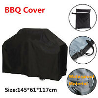 Outdoor Waterproof BBQ Gas Grill Cover Protector Barbecue Garden 145x61x117cm