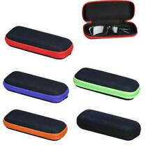 Portable Glasses Hard Case Box Sunglass Protector Travel Hard Eyeglass Zipper ~~