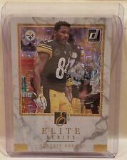 2018 Donruss Football Antonio Brown Elite Series Pittsburgh Steelers Card ES-20