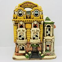 Vintage Christmas Colonial Village by Lefton- The Ritz Hotel