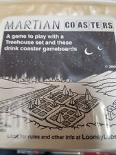 Martian Coasters - Looney Labs Games Party Board Game New!