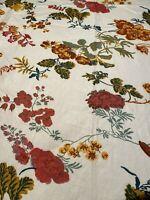 Brunschwig & Fils Chateau Landon Fabric Panel Estate Find Please Read 2.2 YDS