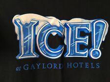 ICE AT GAYLORD PALMS RESORT HOTELT-SHIRT-L-EUC-RARE-CHRISTMAS, CHARLIE BROWN