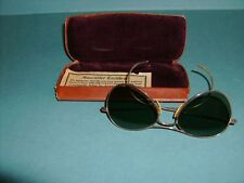 1940's AVIATOR SUNGLASSES AMERICAN SPECTACLE CO. (ABSORB-O-RAY) 1-10 12K GF RARE