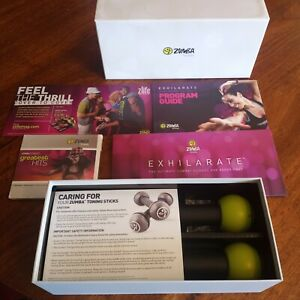 ZUMBA Fitnessd EXHILARATE The Ultimate ZUMBA Fitness DVD Experience NEW Complete