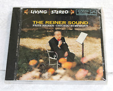 THE REINER SOUND FRITZ REINER CHICAGO SYMPHONY LIVING STEREO  RCA BRAND NEW  CD