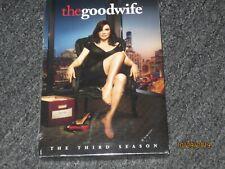 The Good Wife: The Third Season (DVD, 2012, 6-Disc Set) Brand New -Free Ship USA