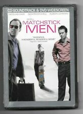 Matchstick Men new dvd + cd Nicolas Cage Alison Lohman Sam Rockwell Bruce Mcgill