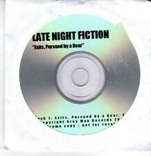 (CS276) Late Night Fiction, Exits Pursued by a Bear - 2012 DJ CD