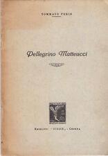 PEDIO TOMMASO PELLEGRINO MATTEUCCI  1937 POTENZA BASILICATA FASCISMO RARO