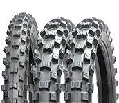 """BLACKROCK Motocross Tyre Deal 125 & 250F 3 x 100/90x19 19"""" Rears Hard 19 inch"""