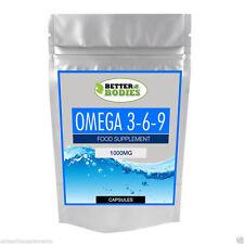 Omega 369 1000mg High Strength Fish Oil EPA DHA SOFT GELS