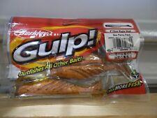 """Berkley Gulp 4"""" Ripple Shad black 4 count package Nip"""