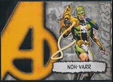 2012 Marvel Beginnings 2 Avengers Die-Cuts Trading Card #A28 Noh-Varr