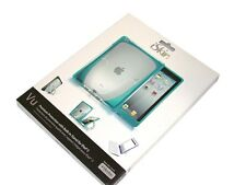 New iSkin Vu Case with Stand for iPad 2 - Blue -IPDVU2-BE2 FREE SHIPPING