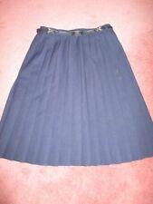 Polyester Pleated, Kilt Unbranded Regular Skirts for Women