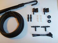 PEUGEOT Windscreen Wiper Washer Jet Kit (Bonnet/Scuttle to Wiper arms)