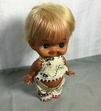 Vintage Rubber Doll Sekiguchi Original Kewpie Big Eyes Made in Japan