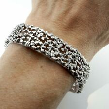 Bracelet No Stone Sterling Silver Vintage & Antique Jewellery