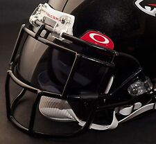 ATLANTA FALCONS NFL Schutt EGOP Football Helmet Facemask/Faceguard (BLACK)