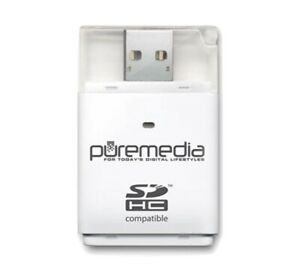 PUREMEDIA USB To SD Card Reader - NEW IN PACKAGING