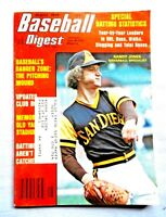 AUGUST 1976 BASEBALL DIGEST MAGAZINE:RANDY JONES -SAN DIEGO PADRES
