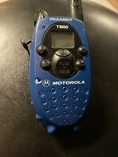 Single Motorola T5100 Talkabout 2-Mile 14-Channel FRS Two-Way Radio