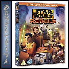 STAR WARS REBELS COMPLETE SEASON 4 - FOURTH SEASON ** BRAND NEW DVD