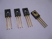 Lot of 4 Motorola BD236 PNP Silicon Power Transistors - NOS